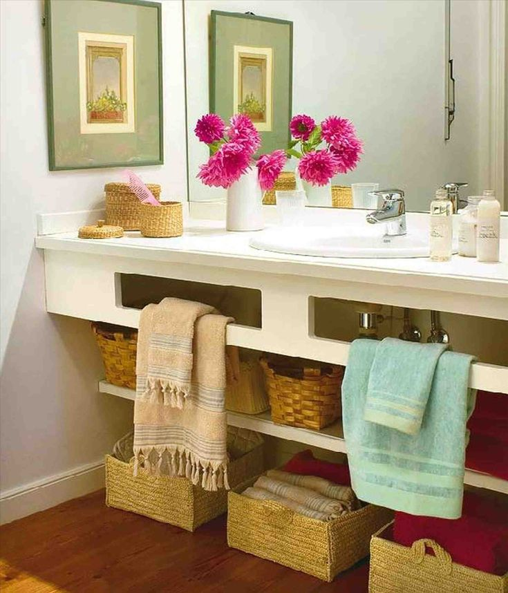 This Cheap Diy Bathroom Decorating Ideas   Bathroom, Cheap Bathroom Storage  Ideas Metal Bar Towel Handle White Ceramic Floor Tile Large Square. Diy  Bathroom ...