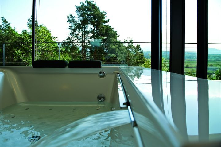 Giacomuzzi Merkez binası..... This would be relaxing and then the view so amazing!!!