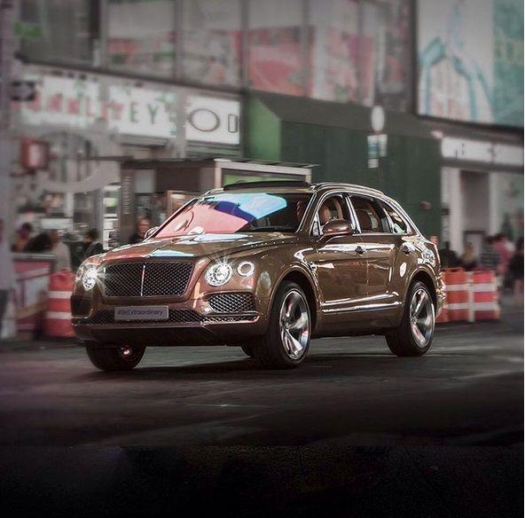 Dünyanın en hızlı #SUV modeli.  #Bentley #Bentayga #BeExtraordinary