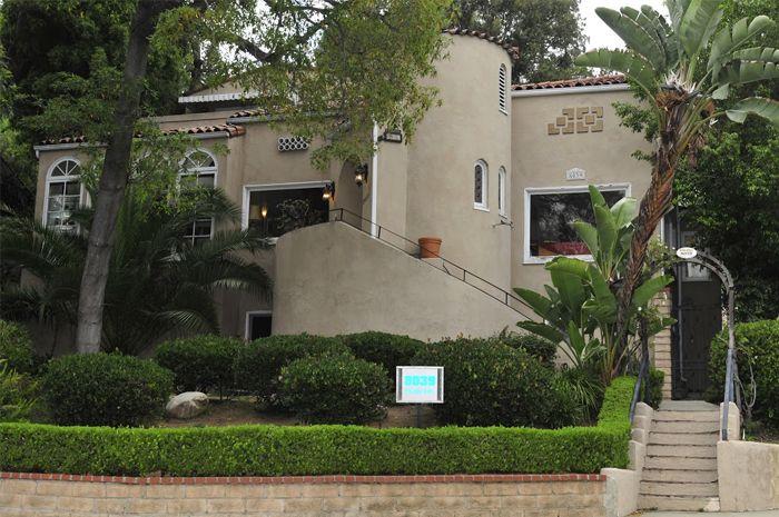 West Hollywood, Los Angeles. Secret Garden B&B
