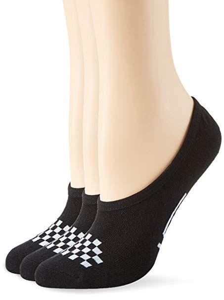cc65a5fe70c7 Vans Womens Girls Basic Canoodle No Show Socks (Girls Shoe Size 1-6 ...