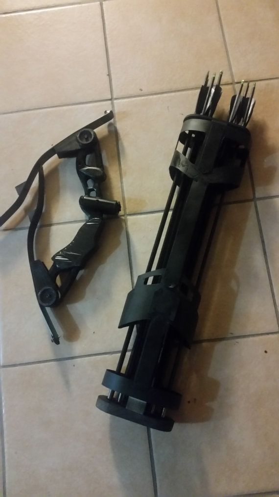 Hawkeye BOW ONLY  Foldable  Handmade  Movie by Props2Powerloaders
