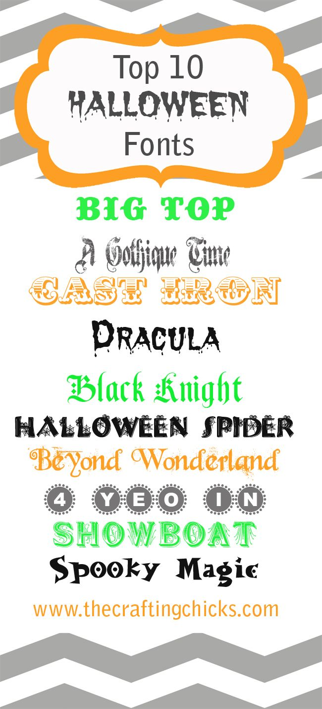 Best 25+ Spooky font ideas on Pinterest | Halloween fonts, Serif ...