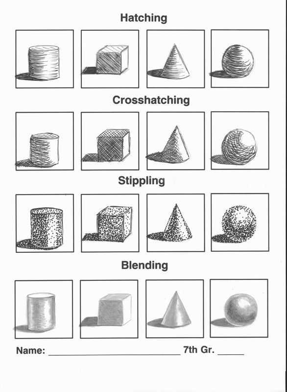 Copy this to practice shading techniques.                                                                                                                                                                                 More
