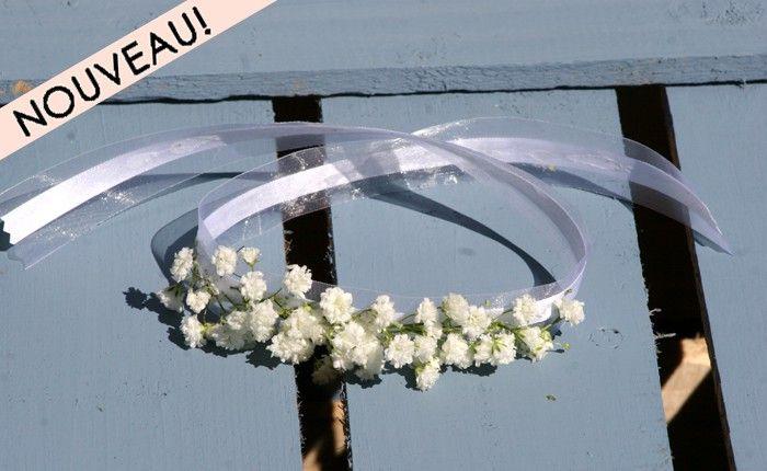 Bracelet gypsophile - Fleurs Mariage - My Wedding Box