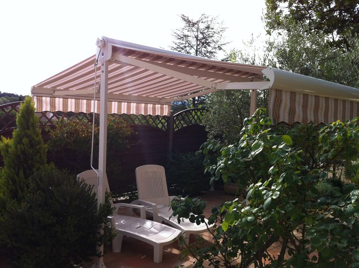 Store double pente : http://www.orion-menuiseries.com/stores-banne/store-terrasse.htm  #store #terrasse #double pente