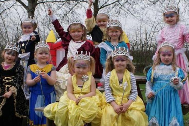 Prinsessenfeest - verjaardagskist