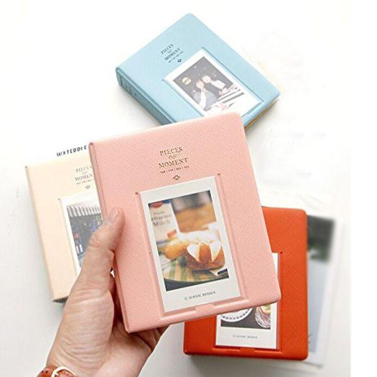 64 Pockets Mini Instant Polaroid ≧ Photo Album Picture Case for Fujifilm Instax ᗔ Mini Film 7s 8 25 50s 90 instax mini album(0_*)64 Pockets Mini Instant Polaroid Photo Album Picture Case for Fujifilm Instax Mini Film 7s 8 25 50s 90 instax mini album(0_^)