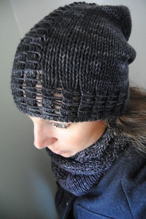 P L U T O N I A N - Cowl, hat and mitten design by Lisa Mutch -   This matching set of three is thick, lush and sure to keep you warm during the cold, dark winter months. http://www.ravelry.com/patterns/library/plutonian