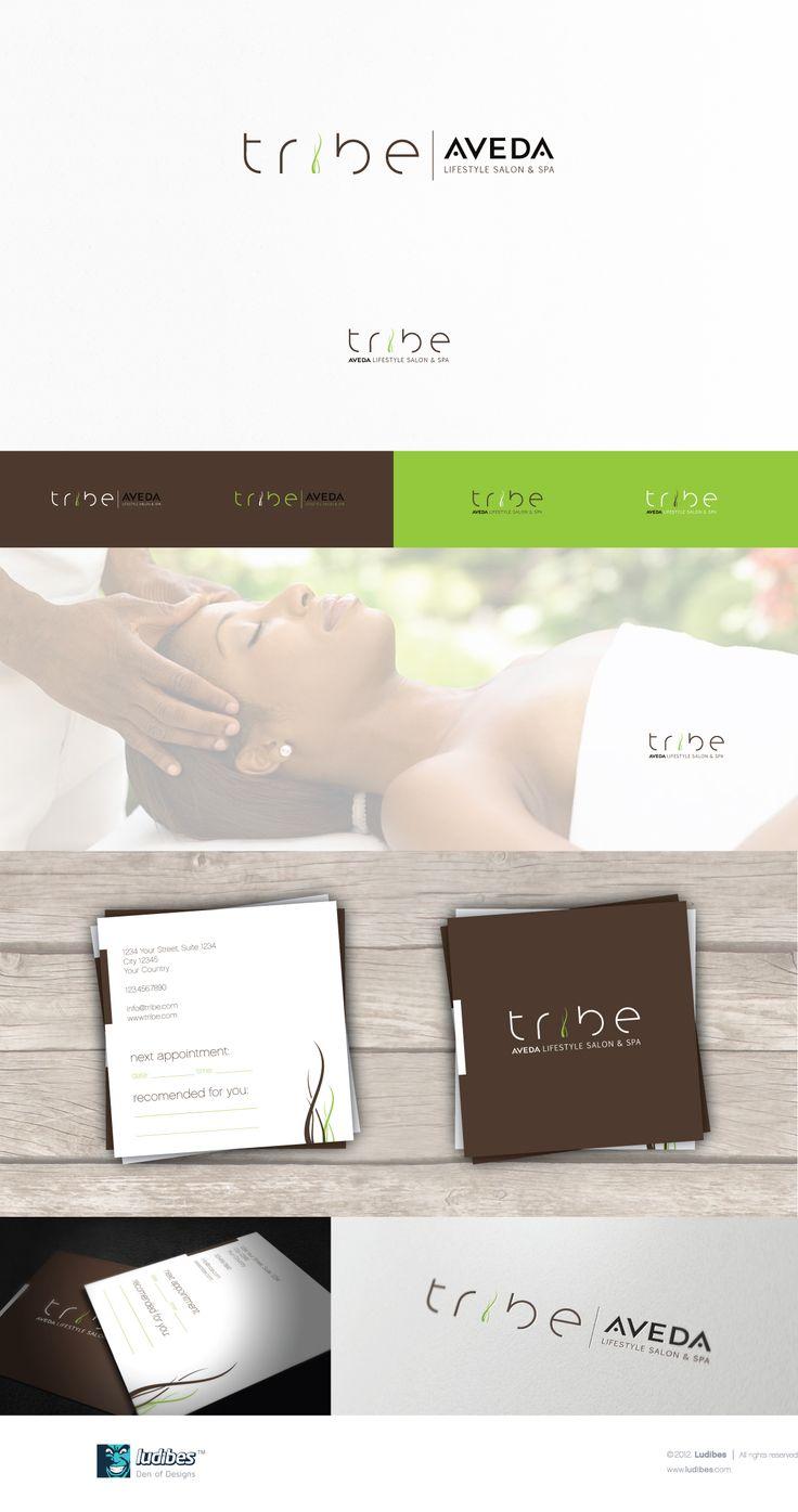Tribe salon - logo design by ludibes™