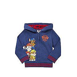 Nickelodeon Paw Patrol Print Hoodie years 02 - 03 Blue
