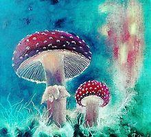 MAGIC MUSHROOM by ArtDesignlipe