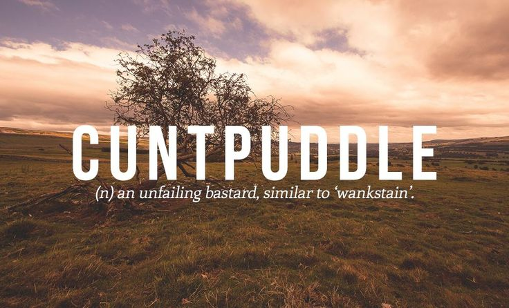 18 British Swear Words We Should All Start Using - Gallery