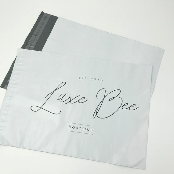 100 14x18 Custom Your Logo Poly Mailer Bag Printed