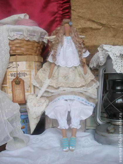 Бланш - белый,кружево,нежность,саше,бабочка,кукла,тильда,хлопок 100%,кружево