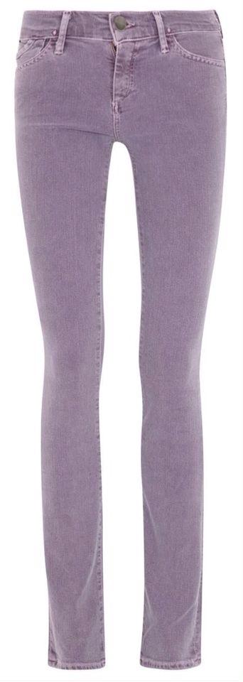 Goldsign Misfit Slim Leg Jeans in Violet