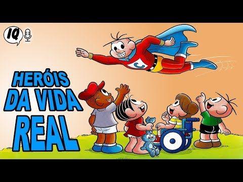 Pin Em Canal Do Youtube Incriveis Quadrinhos