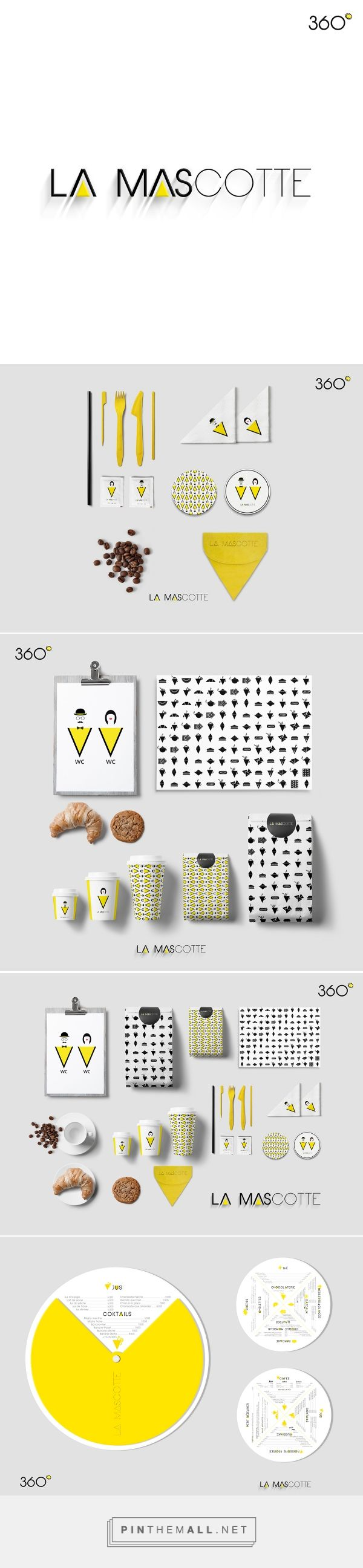 La mascotte identity on Behance | Fivestar Branding – Design and Branding Agency & Inspiration Gallery