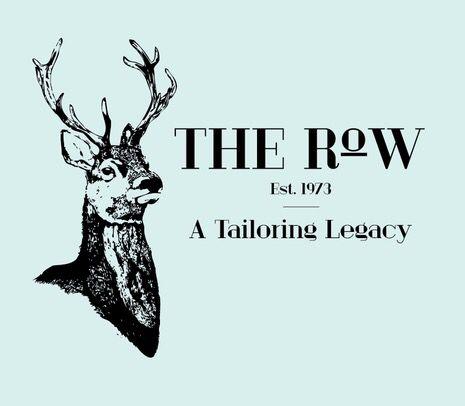 Diseño de marca para The Row en Bogotá, Colombia. Fashion branding. Tayloring. Bespoke. Est 1973.