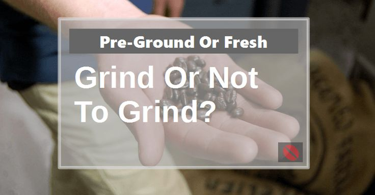For those of you that don't know which is better, fresh ground coffee or pre-ground this article is a MUST read. https://www.beanground.com/fresh-ground-coffee-vs-pre-ground/