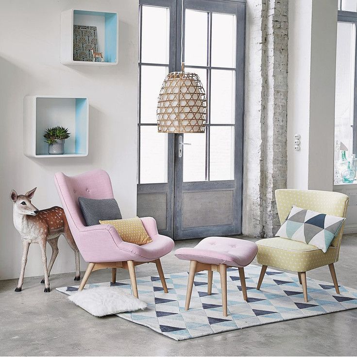 Arredare con i colori pastello, salotto  #pastel #color #inspiration #home #decor