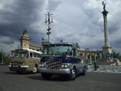 Ikarus 66 & Ikarus 630 sightseeing bus