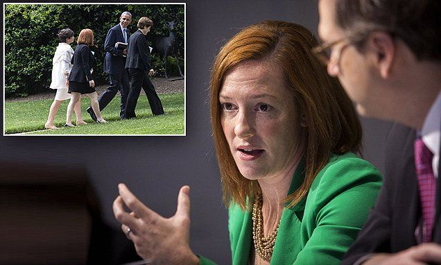 Bitter corrupt liar Jen Psaki. Shame on you! Obama's inner circle reveal their true contempt for Trump   Daily Mail Online