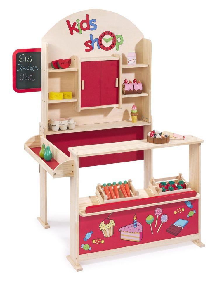 Howa marchande en bois 4750 jeux et jouets cuisini re pour mi - Lit mezzanine marchande ...