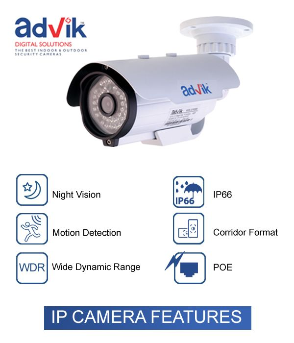 What to look in an ‪#‎IPCamera‬ !!! IP ‪#‎securityCamera‬ comes loaded with various ‪#‎features‬ that makes them most admired tool for security. While you can have good resolution, ‪#‎HD‬ quality images, remote monitoring, you can also get good quality images in any light and weather conditions. Here are few features to look into the IP security camera.  Read detail article on : http://bit.ly/1Uh7Kcl