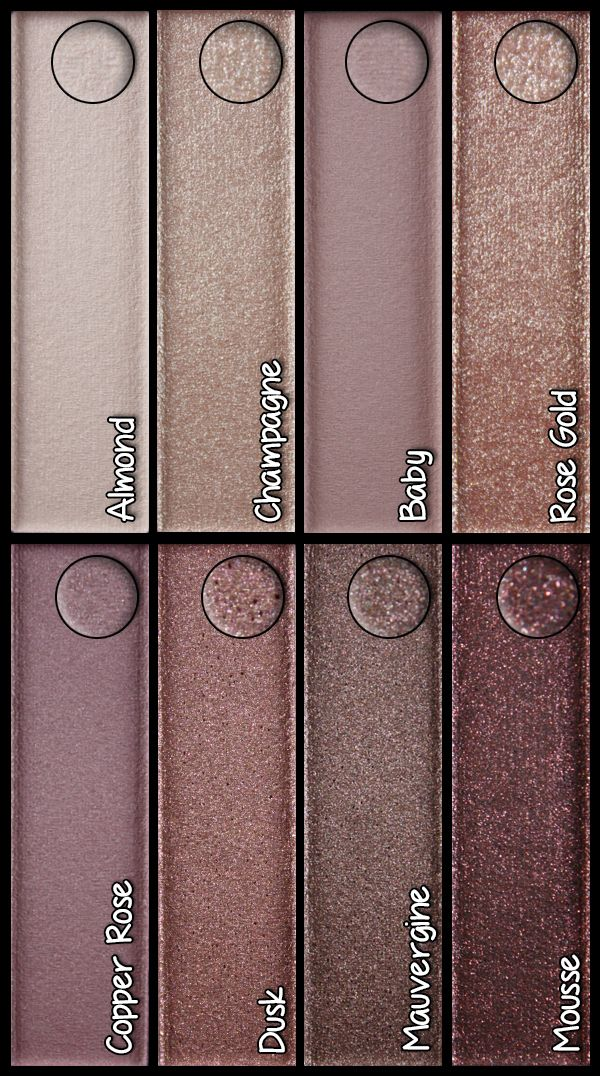 Lauryn Andrade: CoverGirl TruNaked eyeshadow palette - Roses
