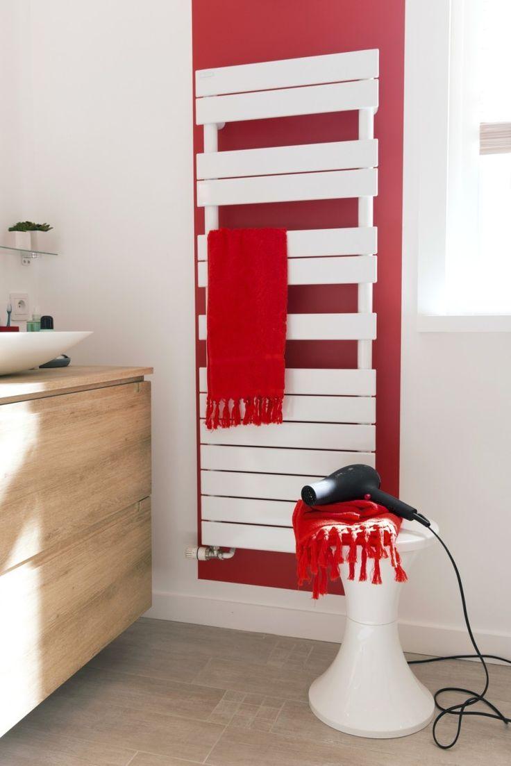 Les 20 meilleures id es de la cat gorie d coration salle for Salle de bain rouge et blanc