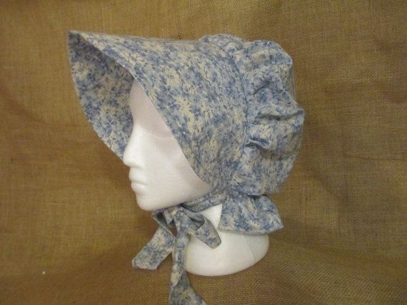 Old Fashioned Bonnets Of The Pilgrims