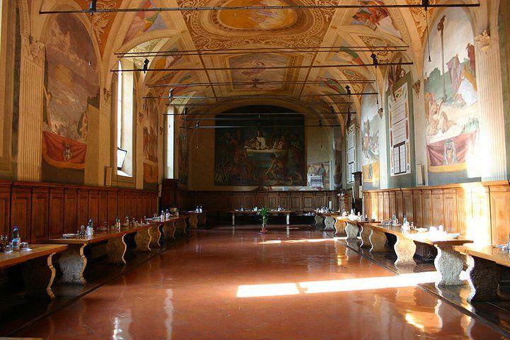 Refettorio, Abbazia di Monte Oliveto Maggiore