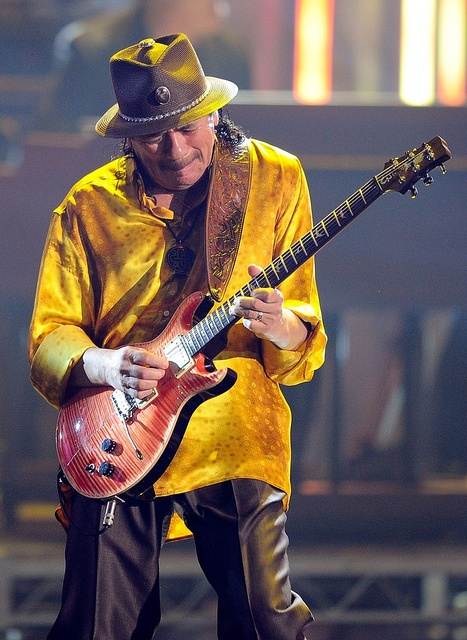 Carlos Santana Concert                             Leiden                                                            nov. 1978