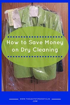 To save money on dry cleaning, get prices from your local cleaners and see if there's a Dry Clean City -- they have the lowest rates in my town and others.