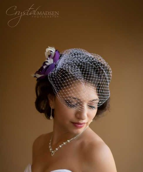 141 Best Different Ways To Wear A Birdcage Veil Images On