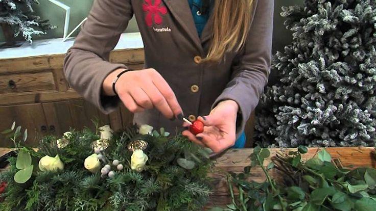 Maak zelf je eigen kerststuk met de tips van Intratuin Halsteren!