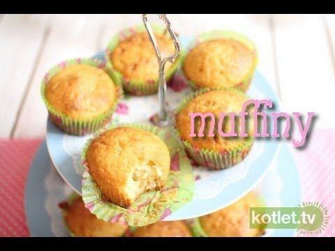 Muffiny najlepsze - przepis bazowy - Kotlet.TV
