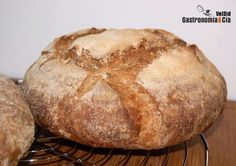 Pan con harina de centeno, pipas, linaza y mijo