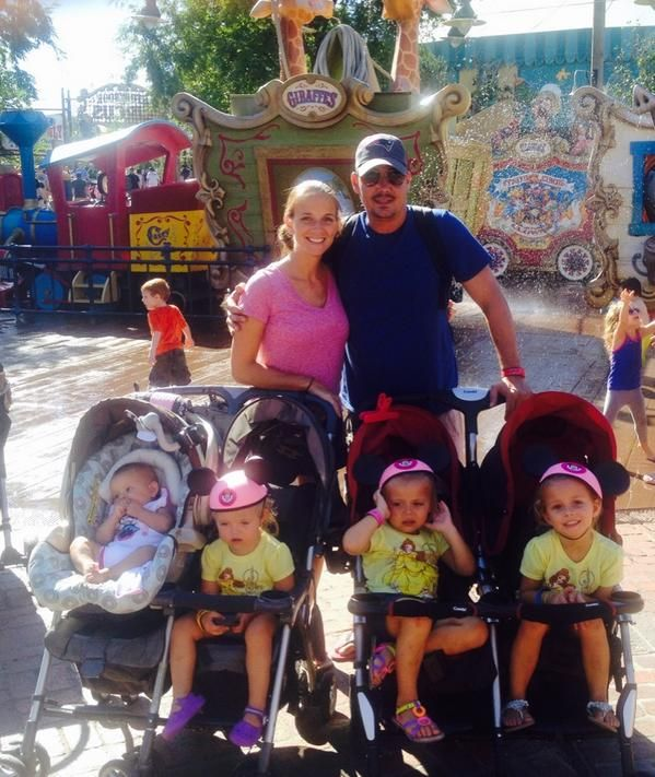 Boston Rob And Amber With Their Daughters Lucia Carina
