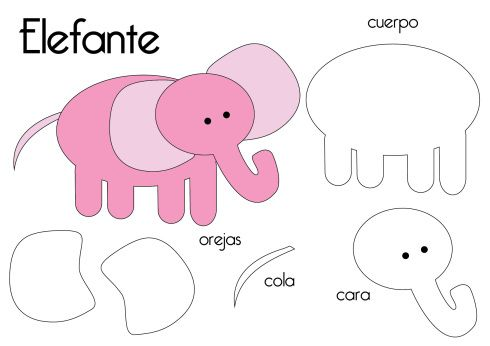 templates for felt animals | Felt Animal Templates