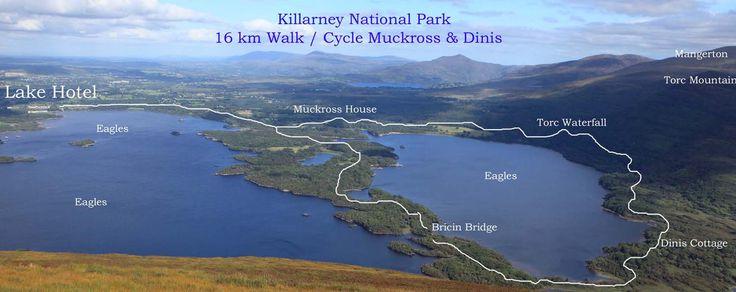 Killarney | ... in the Killarney National Park Map Free ...