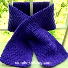 Knitting Pattern For A Plain Scarf : Best 25+ Easy knitting projects ideas on Pinterest Knitting ideas, Easy kni...