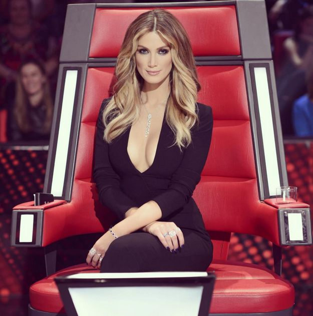 When #DeltaGoodrem killed it each and every week on The Voice. | 22 Times Delta Goodrem Made #2015 Her Bitch