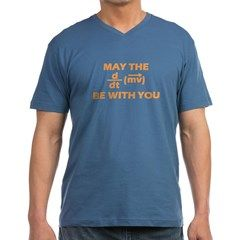 May The Force Be With You Men's V-Neck T-Shirt