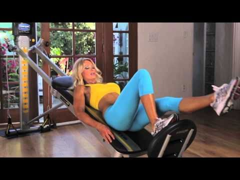 Butt and Leg Workout with Sherry Goggin - Total Gym Pulse - YouTube