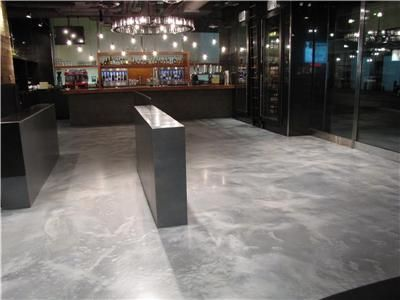 grey concrete floors stain grey stained concrete floors