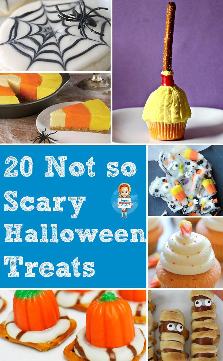 Not So Scary Halloween Treats | Super Mommy Club Halloween isn't Halloween without some spooky treats right?