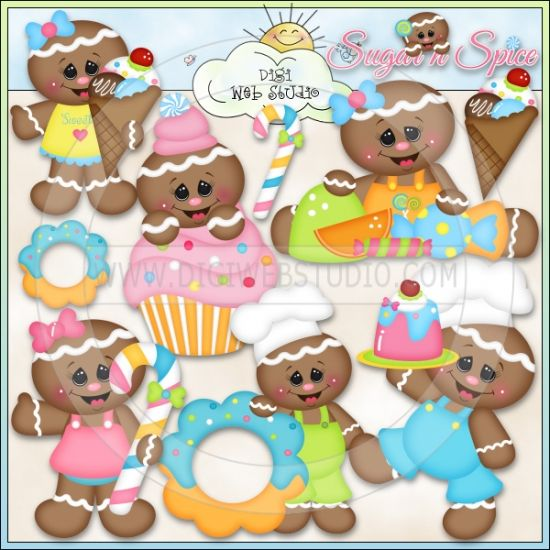 Sugar Shoppe 1 - NE Kristi W. Designs Clip Art : Digi Web Studio, Clip Art, Printable Crafts & Digital Scrapbooking!