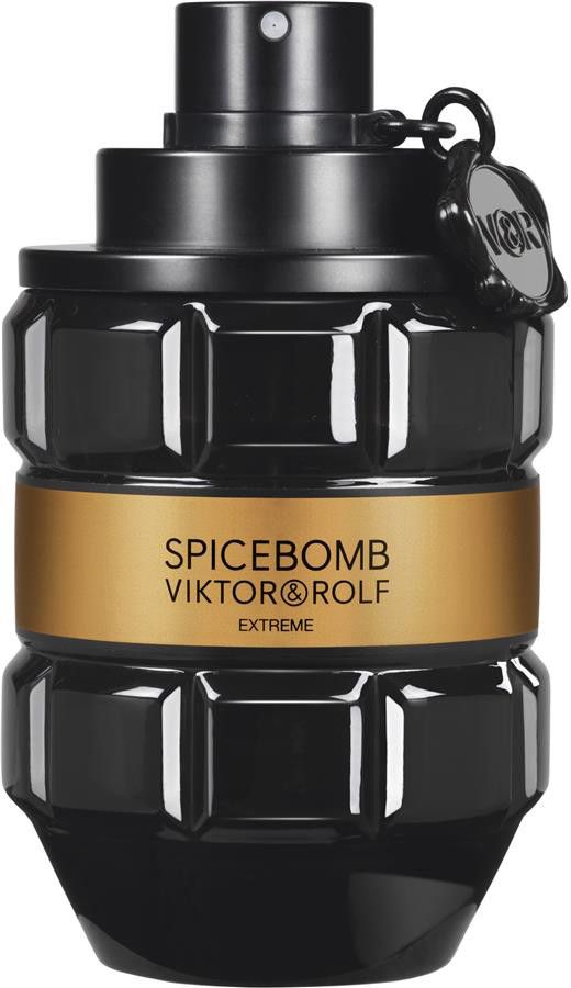 Victor & Rolf Spicebomb Extreme Eau De Parfum Spray is nog meer duurzame, maar toch verleidelijk, sensueel en nog intensiever met een pittige, intrigerende mix van zwarte peper, lavendel, tabak en kaneel. Zoals altijd is de geur van Viktor & Rolf is een zeer explosief, spannende geur!